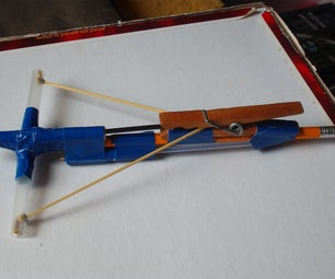 "Pen Crossbow W/ Two ""bolt"" Storage"