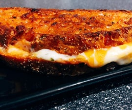 Stupid Awesome Grilled Cheese