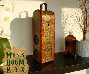 Steampunk Wine-Boom-Box