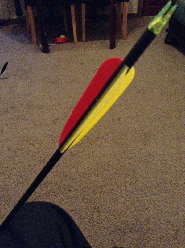 How to Fix Torn Arrow Fletchings!