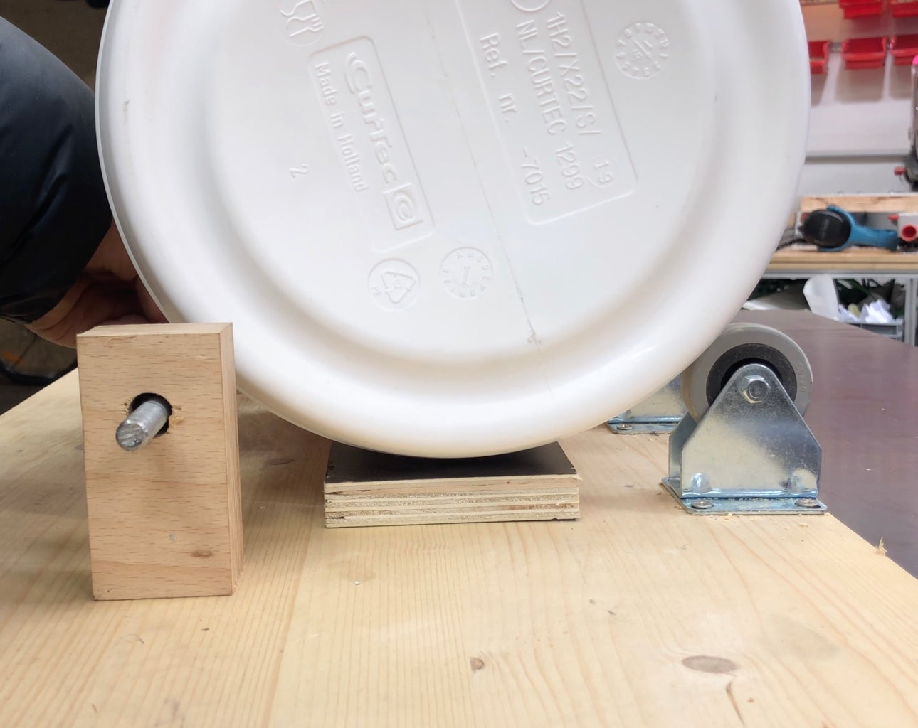Mount Everything on the Base Plate.