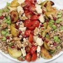 Caramelised Bramley Apple Cous Cous Salad