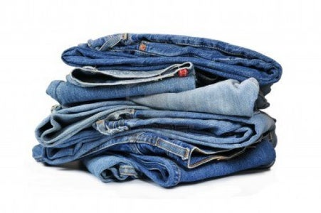 How to Fold Jeans in Retail