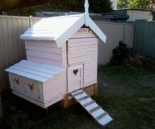 Pink Chicken Coop