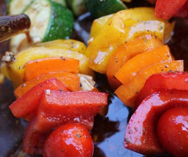 Grilled Rainbow Vegetables