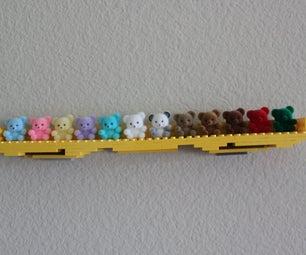 Simple Lego Wall Shelf