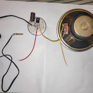 Convert Old Cfl to Audio Amplifier
