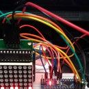 Arduino Binary clock using LED Matrix