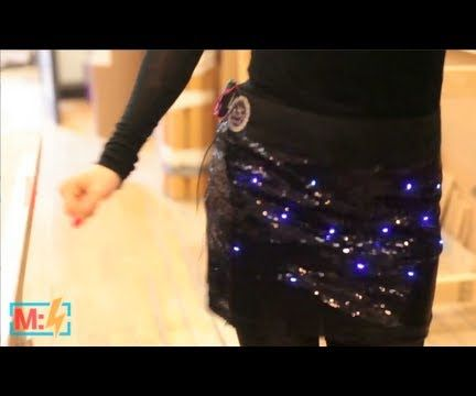 Twinkle LED Dance Party Skirt