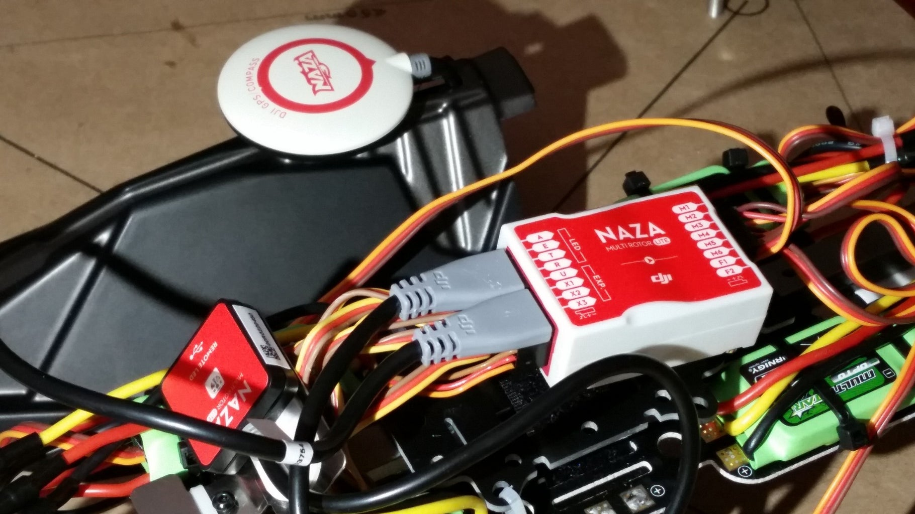 Connect the GPS/Compass Module to the Flight Controller