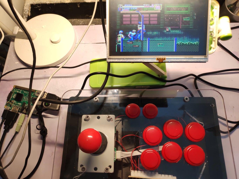 Retropie Pi Mini Arcade  Pi-man