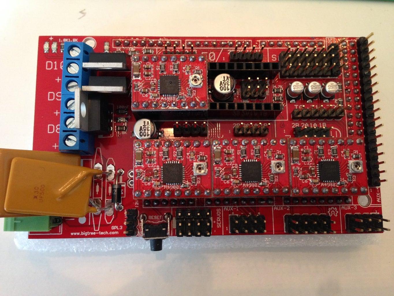 Ramps 1.4 + A4988 Driver Modules - Description