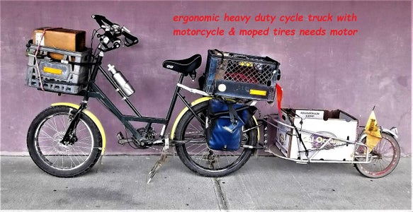 How to Build an Ergonomic Cycle Truck