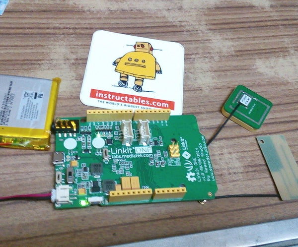 Linkit One GPS (sending SMS of GPS Location to Mobile)