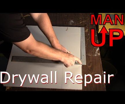 Fixing Holes in Dry Wall - The Perfect Patch Method
