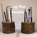 Log Pen Holder