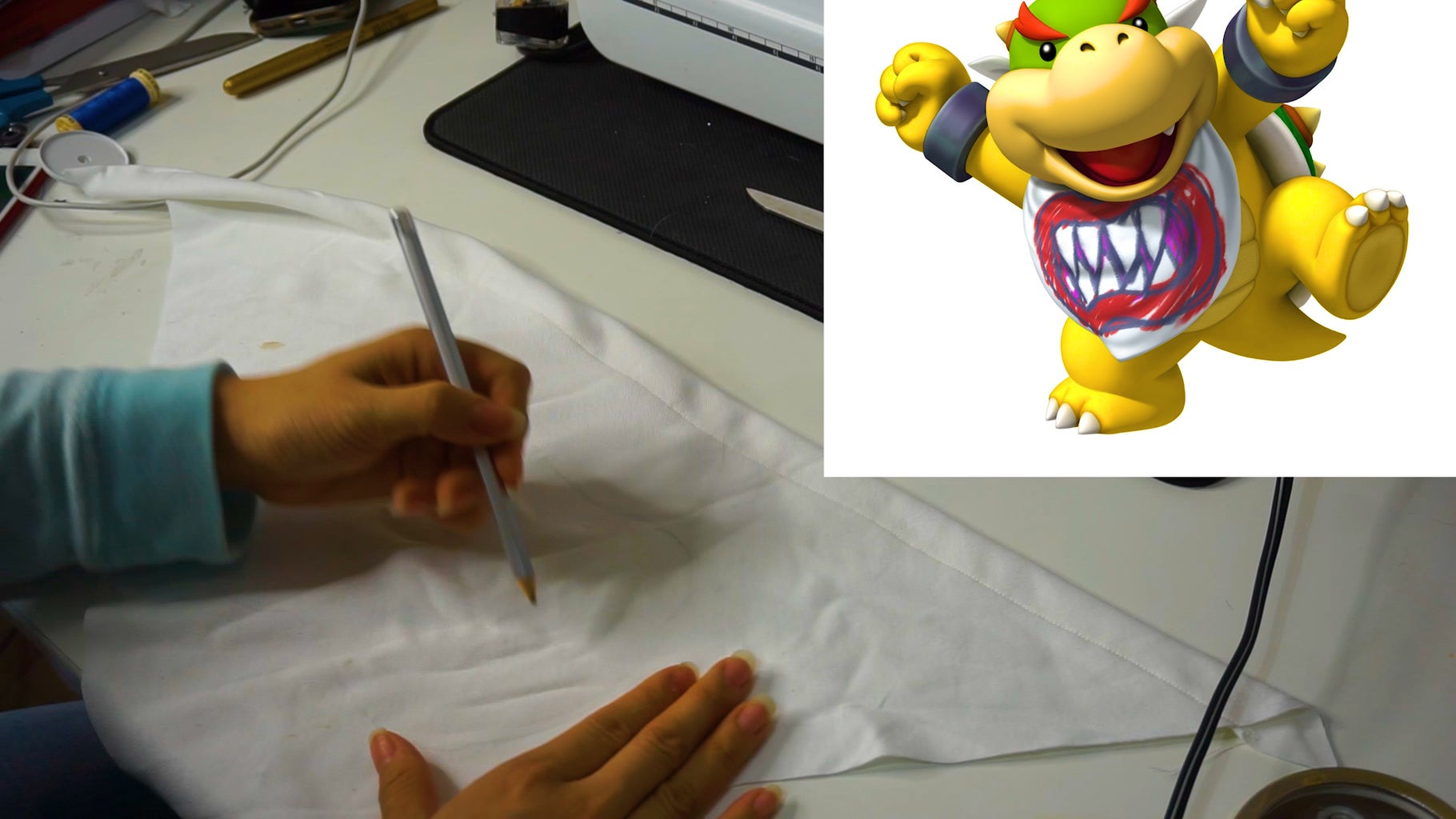Step 3: Creating the Mouth Shape and Teeth