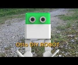 Otto DIY Robot Walking - Quick & Easy to Do Tutorial