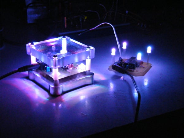 How to Make an Arduino Based Night Light With Infrared Remote Control!