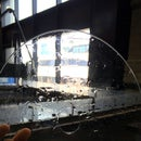 Tips for waterjetting glass