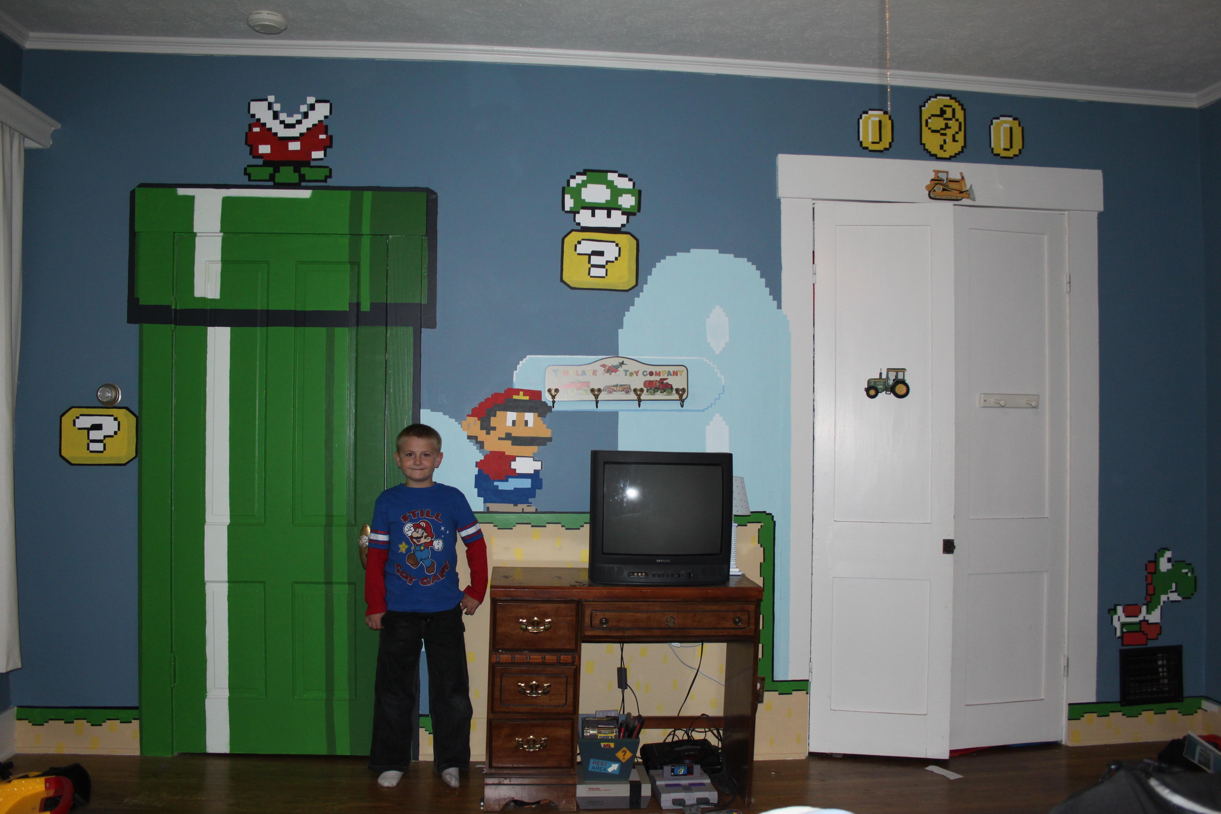 Retro Room Mural (RRM)