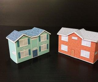 Make a Small Gift Box - DIY Papercraft