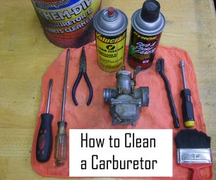Cleaning a Carburetor in 8 Easy Steps!