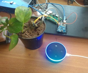 Plant Monitoring Using Alexa