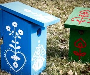 Birdhouses to Help Birds and Decorate Garden