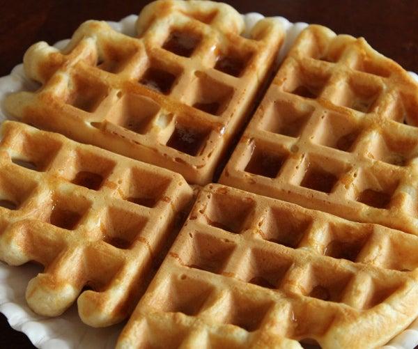 Fluffy Homemade Waffles