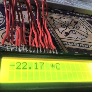 LCD Thermometer -  Arduino