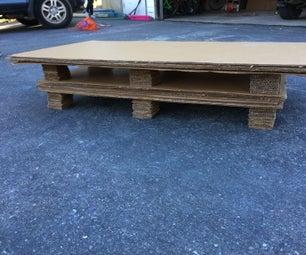 DIY Cardboard Coffee Table
