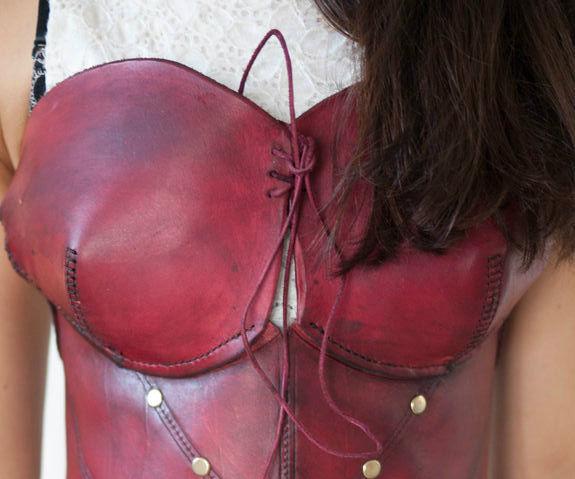 Leather Corset Tutorial
