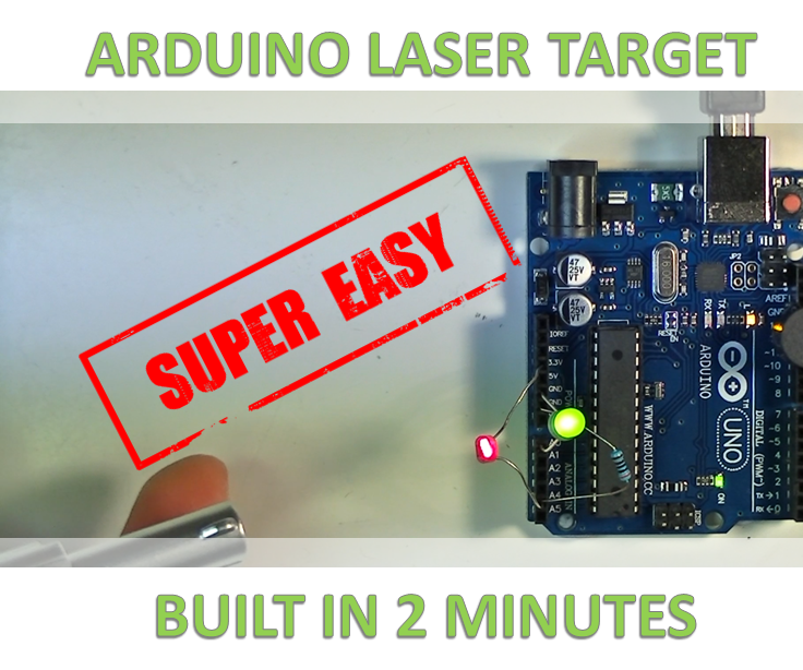 The 2 Minute Laser Tag Circuit