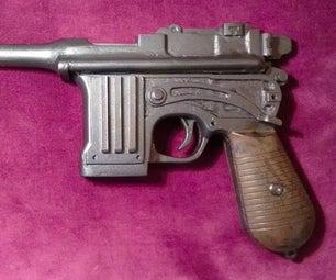 Bioshock Infinite Booker DeWitt's Broadsider/Mauser Pistol Replica