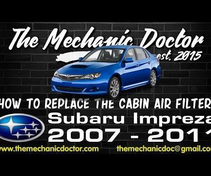 How to Replace the Cabin Air Filter : Subaru Impreza 2007-2011