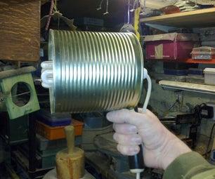 Make a Handheld Workshop Lamp
