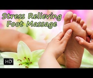 Learn How to Give a Stress Relieving Foot Massage - Foot Reflexology Massage Techniques