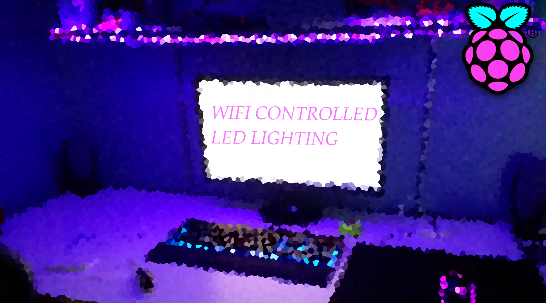 Website/WiFi Controlled LED Strip With Raspberry Pi