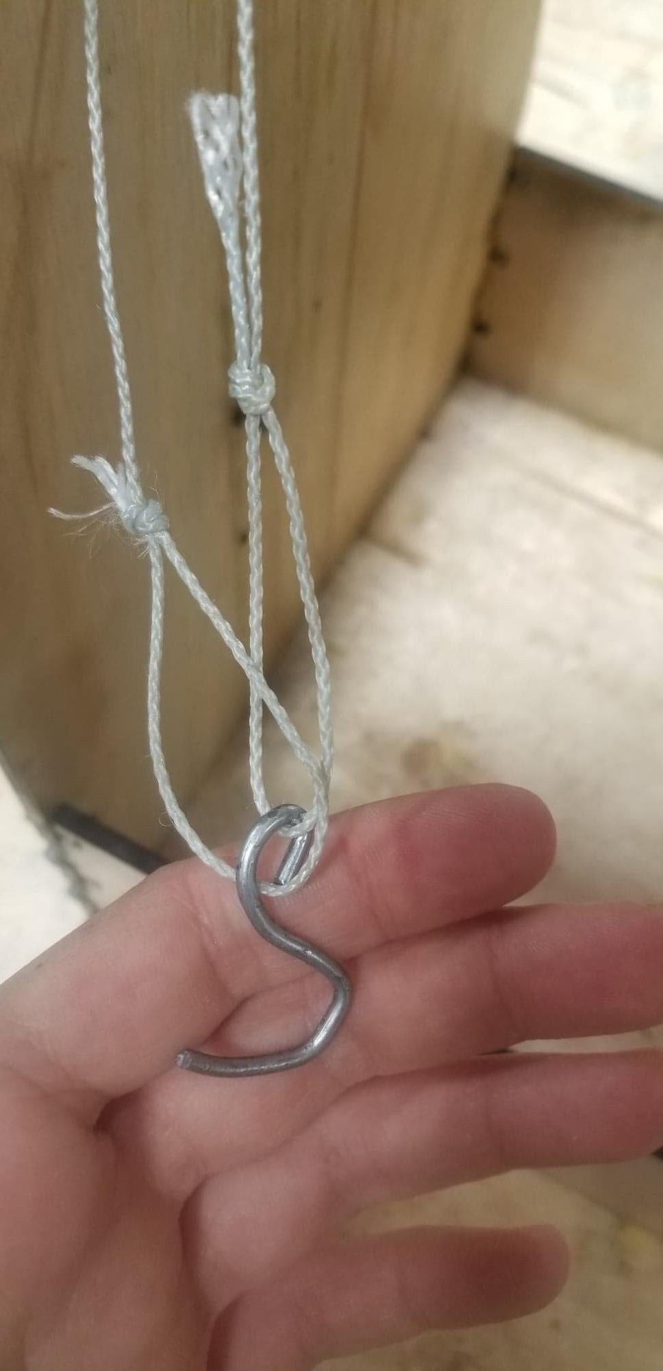 Tie on the String