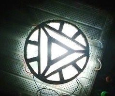 Ironman's Mark 3 Arc Reactor Cheap and Easy