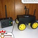 Remote Control Car With NRF24L01 PA LNA Communication Module