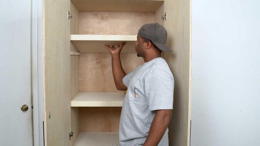 How to Build the Shelves