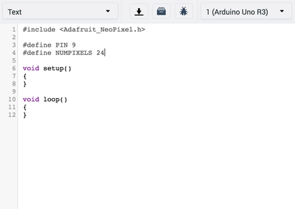 Writing the Code: NeoPixel Basics
