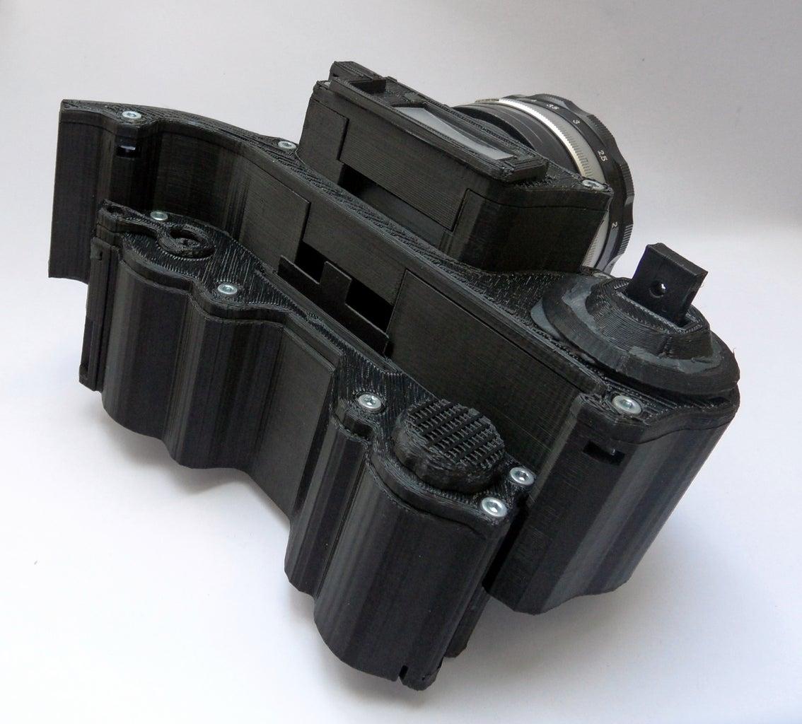 3D Printed Camera : OpenReflex