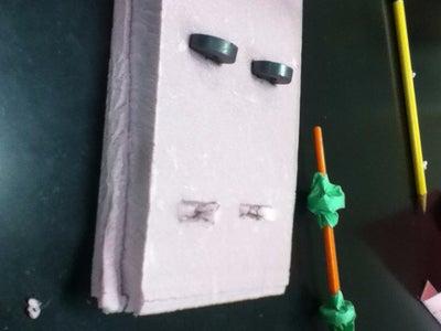 Levitating Paintbrush