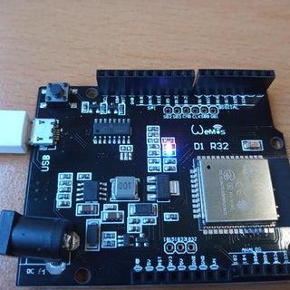 How to Set Up and Use WeMos TTgo ESP32 Uno D1 R32