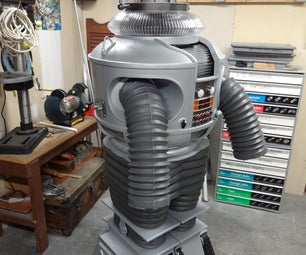 EZ Robot Controlled Lost in Space B9 Robot