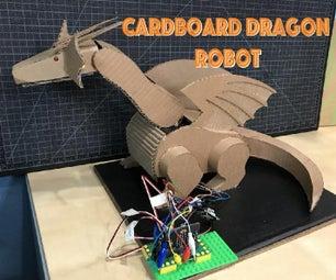 纸板龙机器人