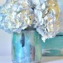 Watercolor Vase DIY